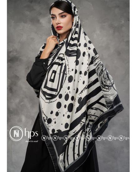Черно-белые платки