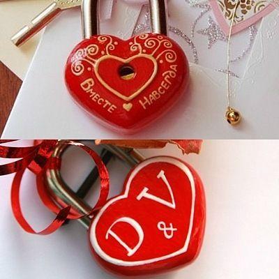 """Замочек любви №6 """"Признание в любви"""""""
